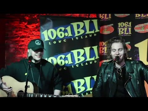 5 Seconds of Summer interview + Want You Back acoustic 106.1 BLI