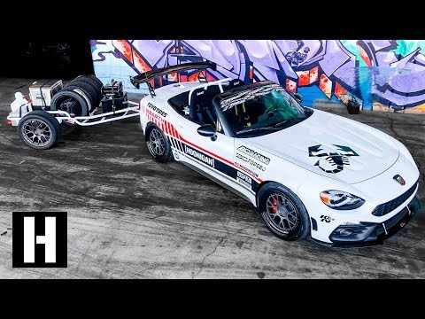 Ultimate Trackday Trailer Setup: Our Track Rat Fiat 124 Is DONE!