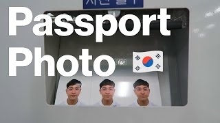 Where to get passport photo in Korea | DIGITAL NOMAD VLOG 103