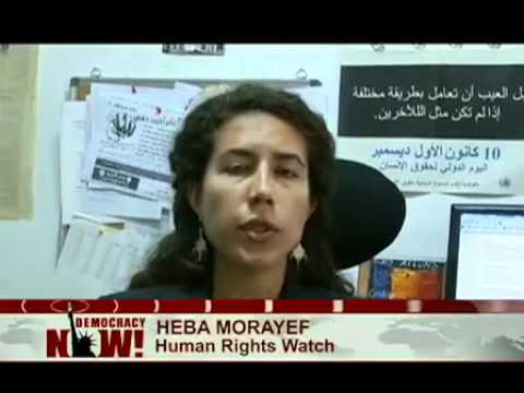 Anjali Kamat in Egypt: The Army vs. The People? - A Democracy Now! Special Report from Cairo. 1 of 2