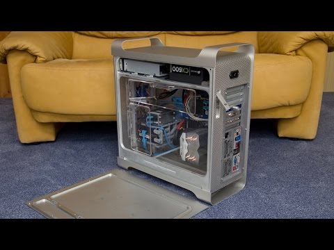 Power Mac G5 Hackintosh build - my first one in an Apple case