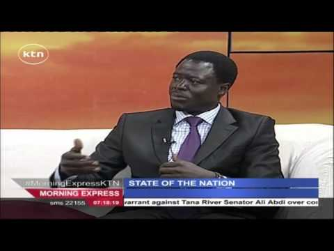 Morning Express 29th October 2015 State of the Nation - Keny