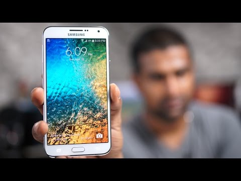 Samsung Galaxy E7 Review!