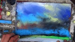 Amazing Speed painting  Landscape