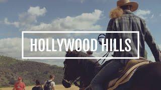 Hollywood Hills 爬好萊塢山,攻頂到HOLLYWOOD字樣之上