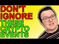 6 Crypto Events You Shouldn't Ignore September 2021