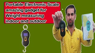 Portable Electronic Scale Amazing Gadget For Weight Measuring Indoor and Outdoor