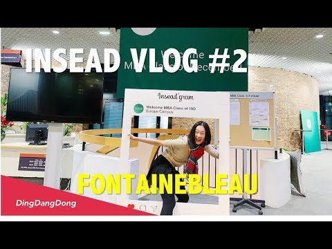 Life at INSEAD #2: Launch Week | Campus in France, Fontainebleau | Dean, Alumni, Career