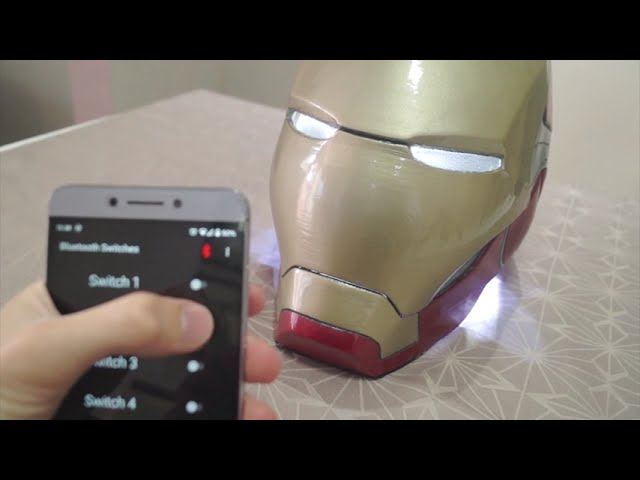 Iron Man helmet with Arduino inside