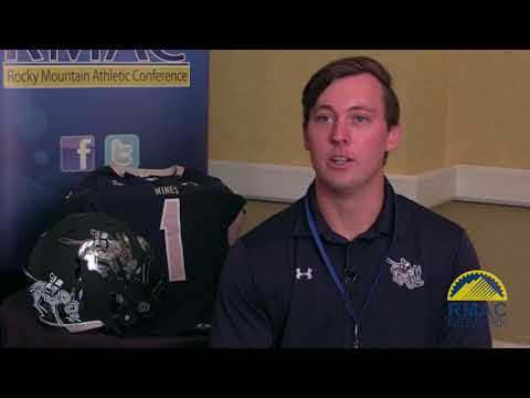 Colorado School of Mines Football Media Day One On One Interviews