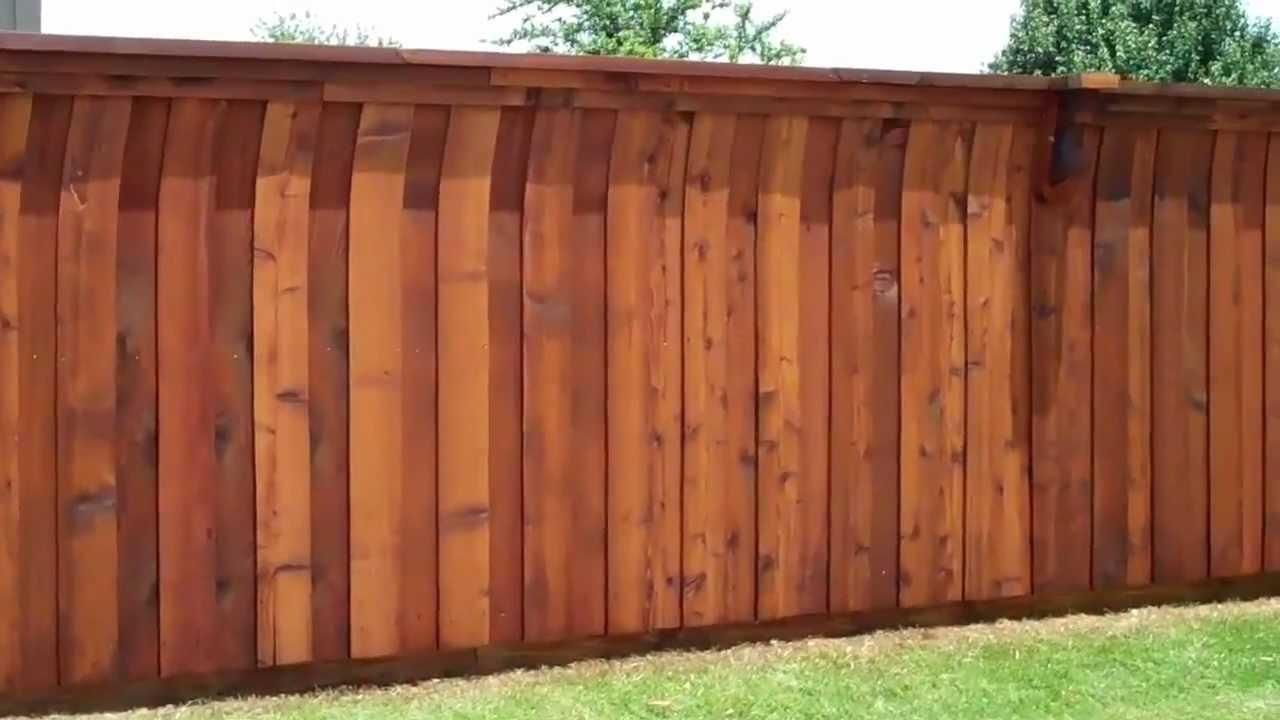 Smittys Woodcare Fence Staining Mckinney Tx Youtube