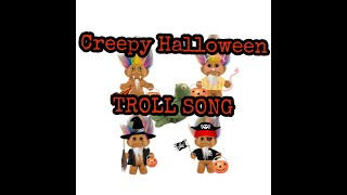 CREEPY HALLOWEEN TROLL SONG [ trick or treat smell my feet] ft. Kermit the frog meme