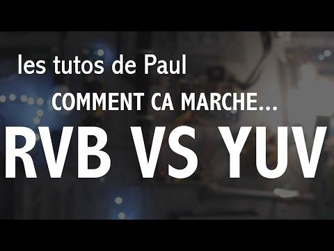 C'est quoi la difference entre le RVB et le YUV ?