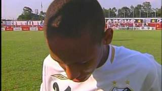 Neymar - 15 anos - 1º jogo
