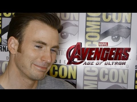 Chris Evans On Captain America's Role In Avengers 2 Age of Ultron - Comic Con 2014