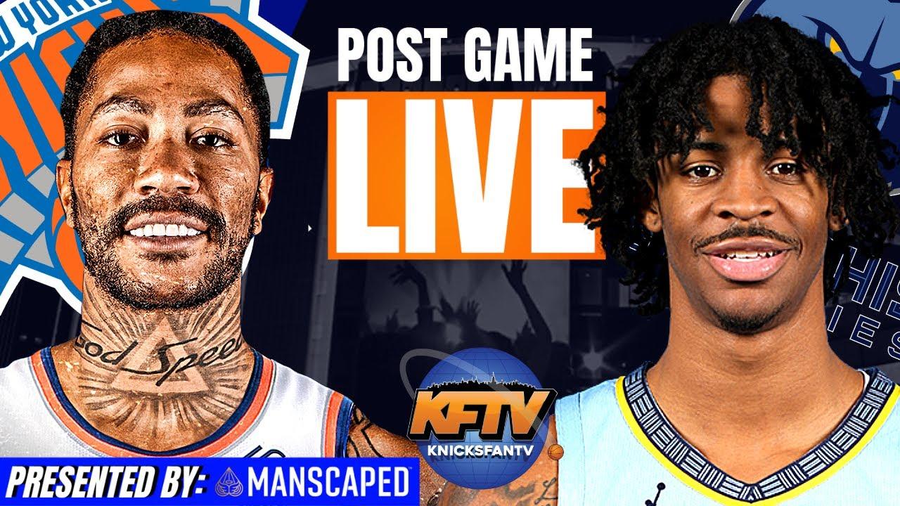 New York Knicks vs. Memphis Grizzlies Post Game Show | Highlights & LIVE Caller Reactions | 5.3.