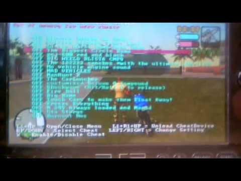 6.60 GTA CHEAT PSP TÉLÉCHARGER VCS GRATUIT DEVICE