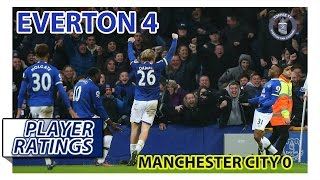 everton 4 0 manchester city   efc player ratings