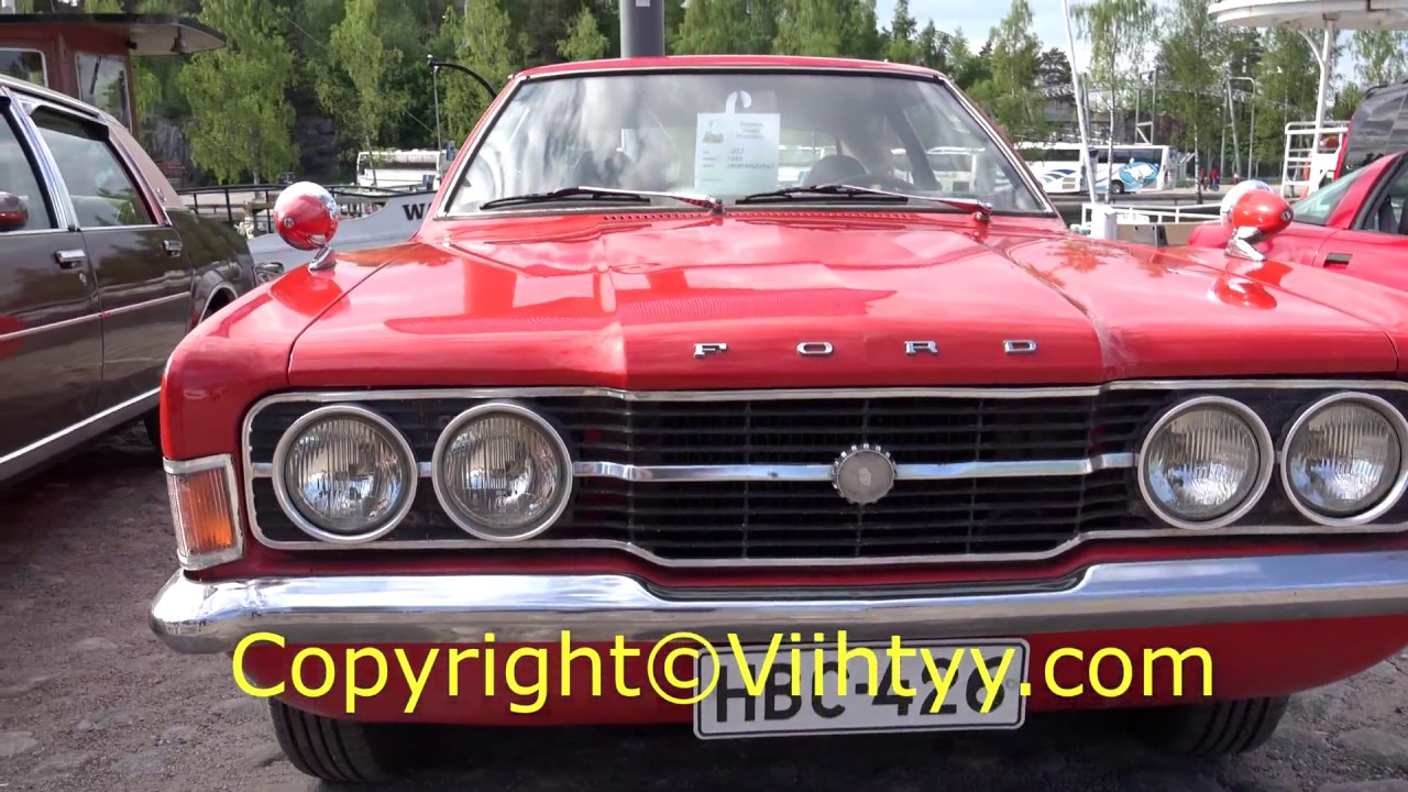 Ford Cortina 1600 Gt 2d Mk3 Old Classic Car 1973 Youtube