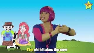 Farmer in the Dell - The Farmer Song Nursery Rhymes for Kids with Actions - Debbie Doo!