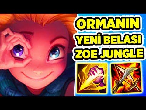 RANKED'DA EJDER ÇALAN ZOE JUNGLE!! FULL AP OYNANIŞ!!!