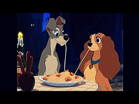 Lady And The Tramp 1955 Scene Bella Notte Youtube