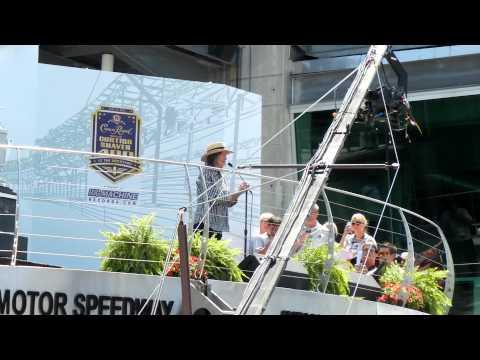 "2012 Brickyard 400-Mari Hulman George: ""Gentlemen, Start your engines"""
