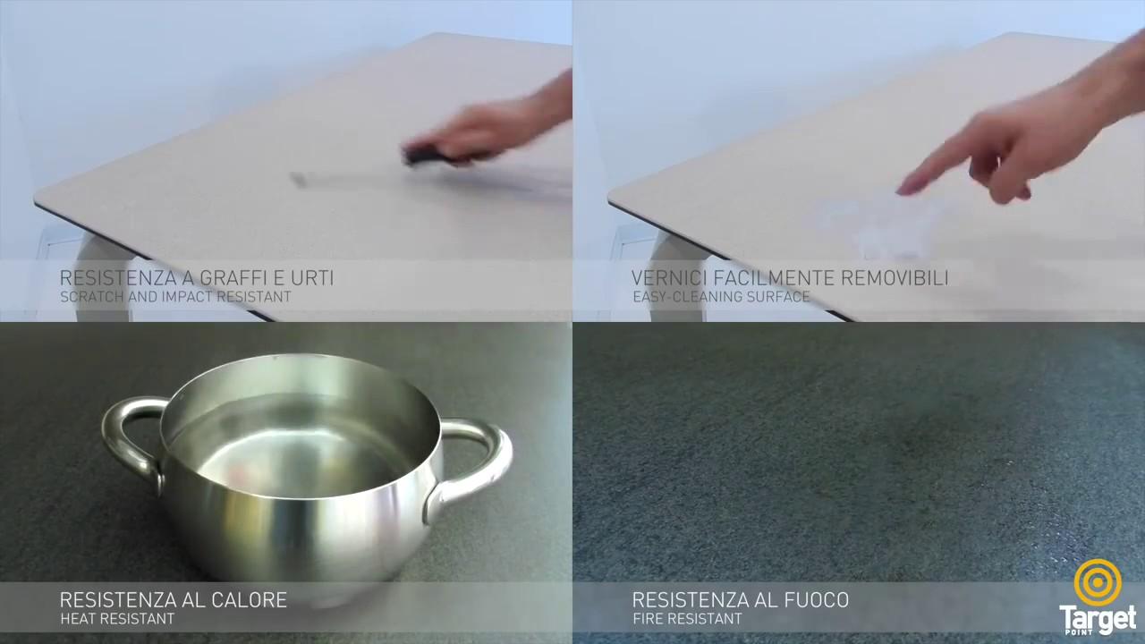 Piano Cucina Gres Opinioni nuovi tavoli con piano in gres porcellanato: mai piu' graffi e macchie !