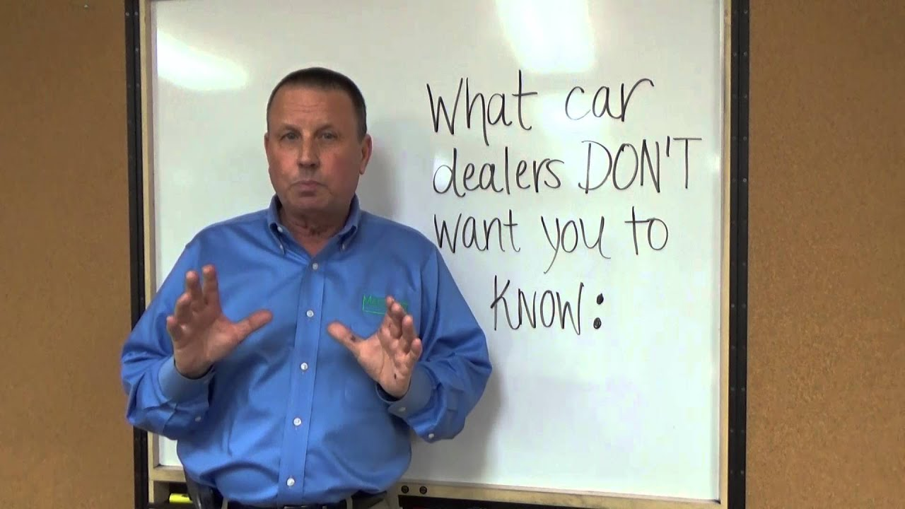 Matt Blatt Glassboro >> What Car Dealers Don't Want You to Know Part I - YouTube