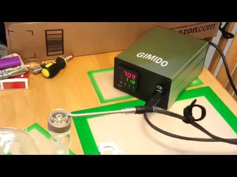 My Gimido Enail, unboxing and a test dab…5/15/2015