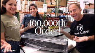 Fiddlershop's 100,000th Order Celebration