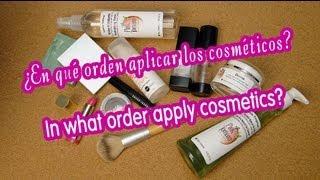 En qué orden aplicar los cosméticos ♥ In what order apply cosmetics Thumbnail