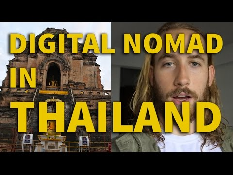 Digital Nomad Day in the Life WITH PRICES   Chiang Mai, Thailand