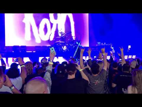Korn Intro Detroit 8-21-16 at DTE Energy Music Theatre (Live)