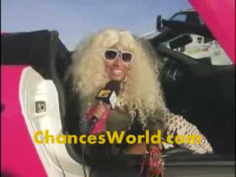 Nicki Minaj - Massive Attack (Music Video Behind The Scenes 2010]