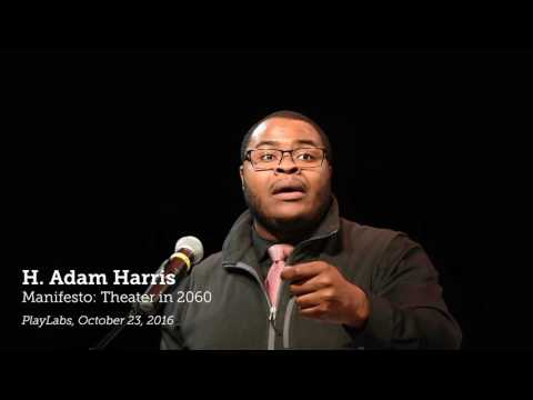 H. Adam Harris on theater in 45 years   Give to the Max Day 2016