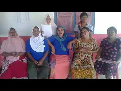 Deklarasi Anti Hoax  Kader Posyandu Desa Balamoa Kab. Sigi