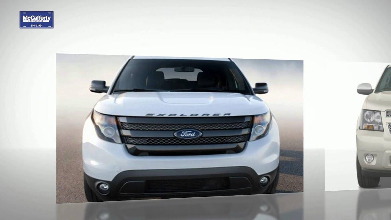 Fred Beans Kia >> 2014 Ford Explorer Vs. 2014 Chevy Tahoe - YouTube