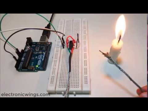 Temperature Sensing Using Thermocouple with Arduino