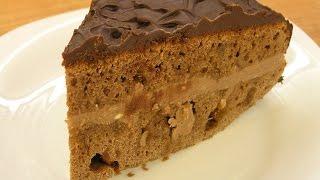 Торт Прага / How to make a Prague cake(Как приготовить дома вкусный торт Прага - видео рецепт, http://www.e-zepter.ru/ Продукты: тесто: - 2 стакана муки, -..., 2014-12-28T08:46:35.000Z)