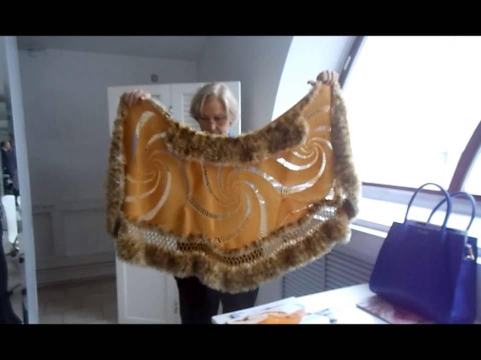 журнал мод 590 валентина нисифорова и палантин из салфеток Youtube