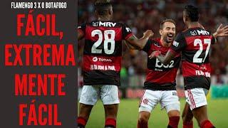 Flamengo vence o Botafogo como se estivesse enfrentando um dos pequenos do Rio: extremamente fácil