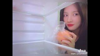 200218 구구단 gugudan 샐리 SALLY 刘些宁 - What's inside JELLY's frid…