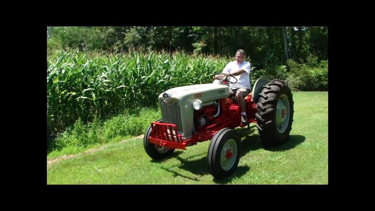 1960 Ford Tractor 601 : Ford tractor youtube