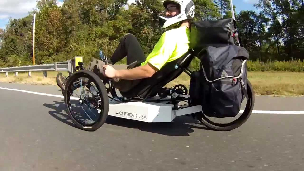Electric Trike Outrider 422 Alpha Pack Ride Youtube