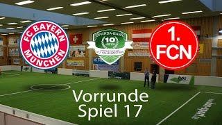 Spiel 17: FC Bayern München 3-2 1. FC Nürnberg │U12 Hallenmasters TuS Traunreut 2017