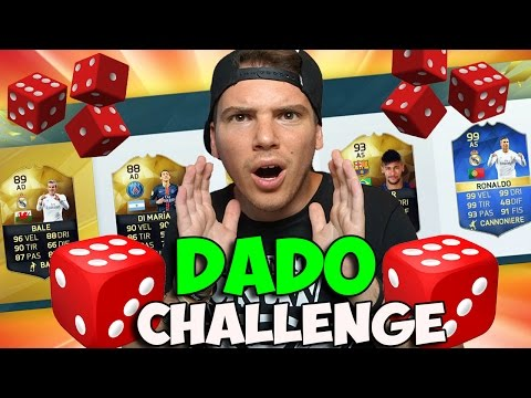 DADO DRAFT CHALLENGE!! - FIFA 16 ULTIMATE TEAM