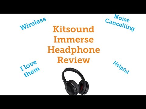 6cc742c05ab Kitsound Immerse Headphones Review - YouTube