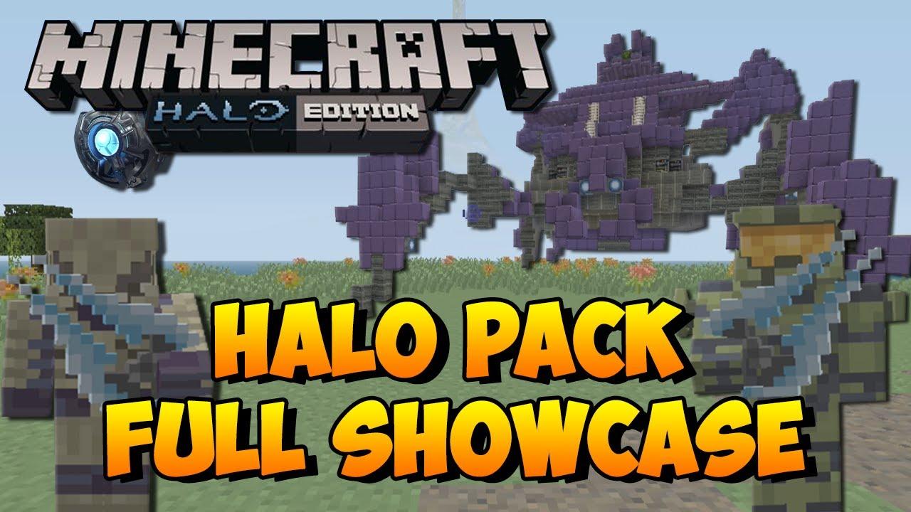 Minecraft Xbox PS Halo Mash Up Pack Showcased Skins - Skins para minecraft pocket edition de halo