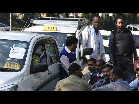 Uber, Ola Drivers Strike In India For Higher Pay | Hyderabad | ABN Telugu